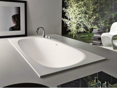 Built-in Cristalplant® bathtub SHAPE | Built-in bathtub