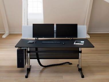 Rectangular executive desk USM KITOS E ADVANCED   Height-adjustable office desk
