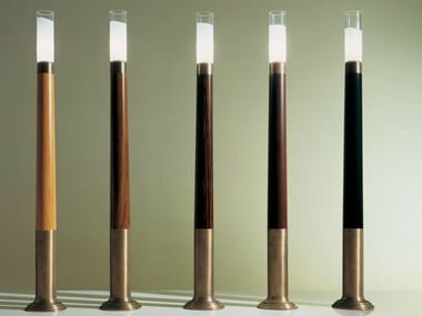 Wooden floor lamp SC1011