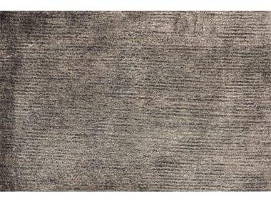 Solid-color bamboo fibre rug VELVET