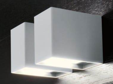 Lampada da parete a luce radente alogena 529 | Lampada da parete