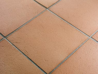 Quarry floor tiles ROSATO ANTICATO