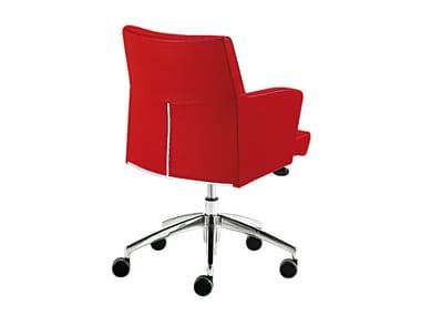 Swivel easy chair with 5-spoke base ADA 1   Easy chair