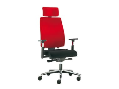 Task chair with 5-Spoke base SAX 24 | Task chair