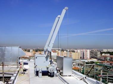 Overhead platform PENTAGONAL BMU