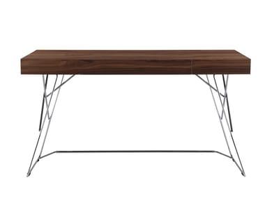 Wood veneer secretary desk MAESTRALE