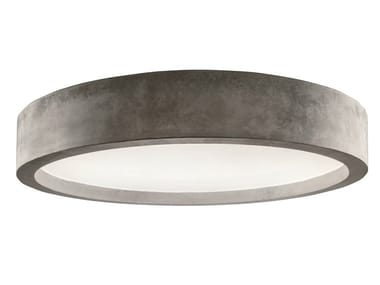 LED cement ceiling lamp ZERO51 | Ceiling lamp