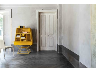 Contemporary style lacquered highboard SUMMER