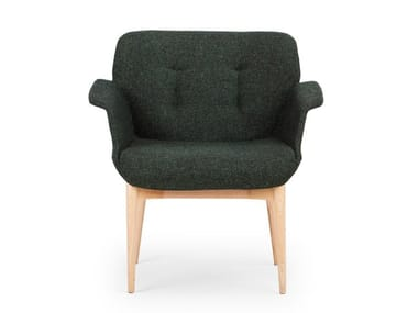 Fabric guest chair HIVE | Easy chair