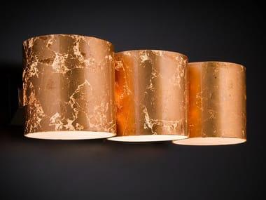 Lampade da parete foglia rame stile moderno archiproducts