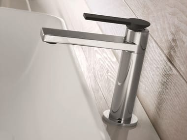 Countertop chromed brass washbasin mixer MACÒ | Washbasin mixer
