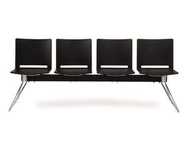 Cadeiras em barra de polipropileno FILÒ PLASTIC | Cadeiras em barra