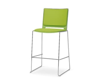 Stackable stool LAFILÒ SOFT | Stool