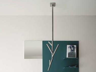 Hanging aluminium coat rack TREE | Hanging coat rack