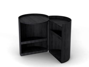 Tavolino / comodino in stile moderno MOON