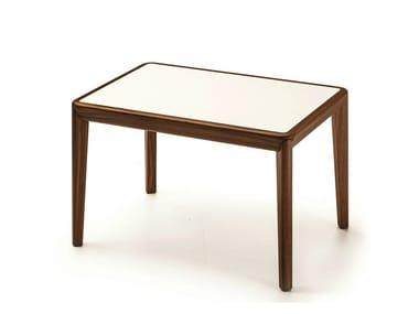 Tavolino alto rettangolare in legno BELLEVUE T04L/FX/M