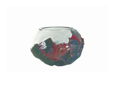 Blown glass bowl FOIL