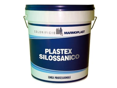Washable water-based paint / Breathable water-based paint PLASTEX SILOSSANICO