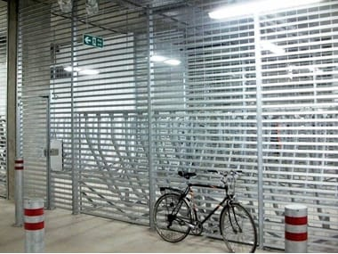 Screening electrically welded mesh Fence OPEN WING