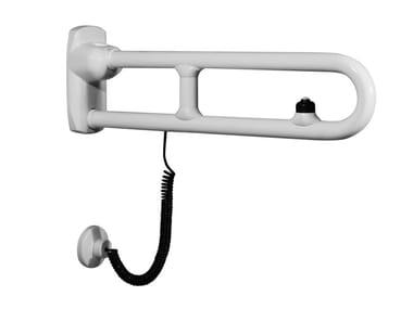 Maniglione bagno ribaltabile in acciaio zincato URBAN PEOPLE | Maniglione bagno ribaltabile