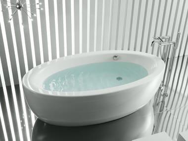 Vasca da bagno centro stanza ovale in acrilico GEORGIA