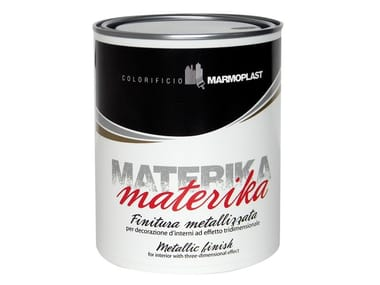 Decorative painting finish with raised effect MATERIKA