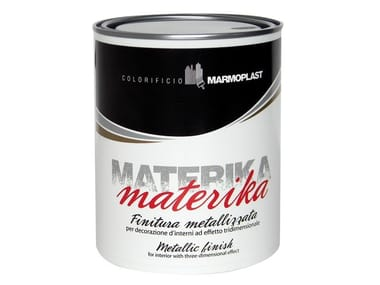 Pittura decorativa con effetto a rilievo MATERIKA