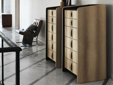 Leather chest of drawers GENTLEMAN | Chest of drawers