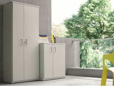 Outdoor laundry room cabinet for washing machine BRACCIO DI FERRO | Outdoor laundry room cabinet