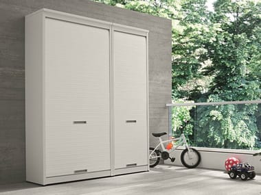 Tall outdoor laundry room cabinet BRACCIO DI FERRO | Tall laundry room cabinet