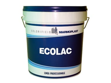 Hydro acrylic enamel for room with the presence of food ECOLAC