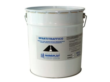 Acrylic varnish for road signals, refractive SPARTITRAFFICO RIFRANGENTE