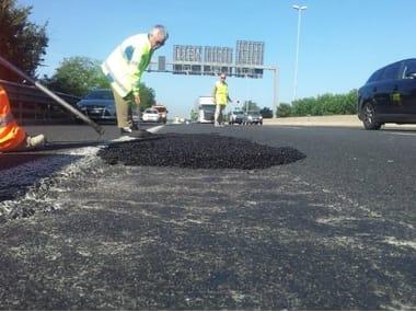 Bituminous conglomerate for asphalt ROADFIX