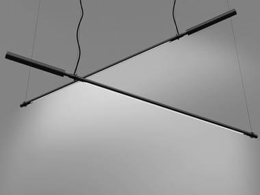Lampada a sospensione a LED orientabile in alluminio COLIBRÌ | Lampada a sospensione orientabile
