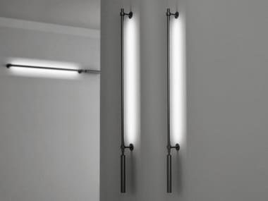 Luminária de parede LED de alumínio com luz indireta COLIBRÌ | Luminária de parede