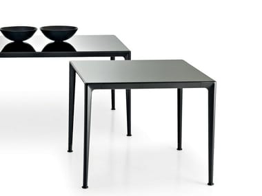 Square glass table MIRTO INDOOR | Square table