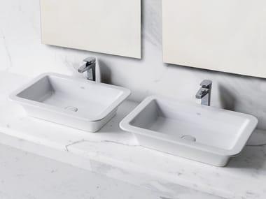 Countertop ceramic washbasin OPERA | Countertop washbasin
