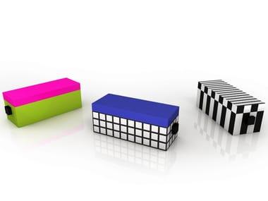 Aluminium storage chest TAMARA