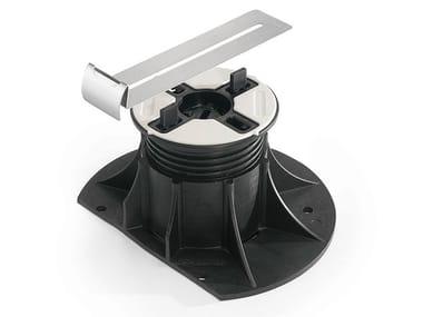 Modular system for raised flooring Universal edge clip