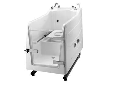 Vasca da bagno in vetroresina con porta 700 | Vasca da bagno in vetroresina