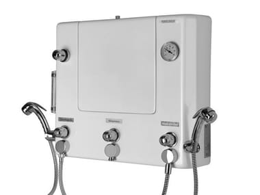 Quadro di comando con doccette per disinfezione/lavaggio 1000