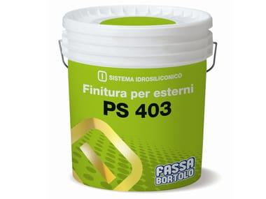 Pittura per esterni traspirante PS 403