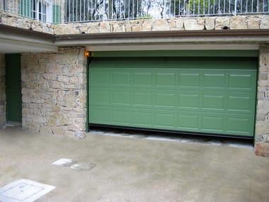 Galvanized steel garage door ATS RL42 | Garage door