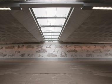 Matrix for fair faced concrete wall FOTO BETON ARTICO