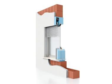Monoblocco per foro finestra con sistemi frangisole PRESYSTEM Frangisole