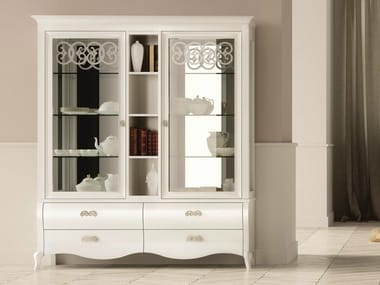 Lacquered display cabinet SYMFONIA | Lacquered display cabinet
