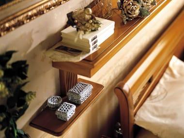 Mensole contenitori ed organizzazione dello spazio for Mensola sopra letto