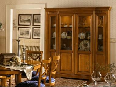 Cherry Wood Display Cabinet Chopin