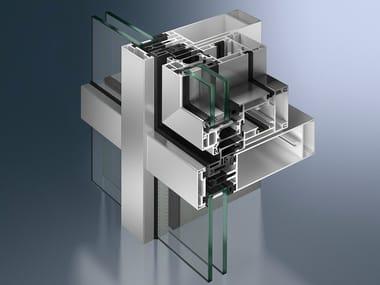 Structural glass facade SimplySmart AWS 114
