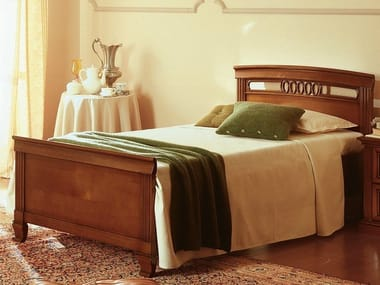 Cherry wood bed single bed VENEZIA | Bed single bed
